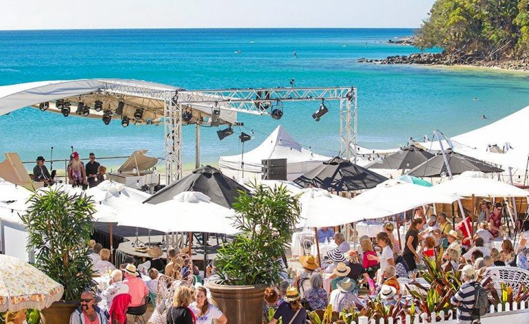 BEACH BLAST: It's Tthe Beach Party to see the last of 2018 in at Noosa